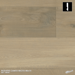 64090 SMARTSKIRTINGS RODAPIE CANTO RECTO MELAMINA COLOR A JUEGO