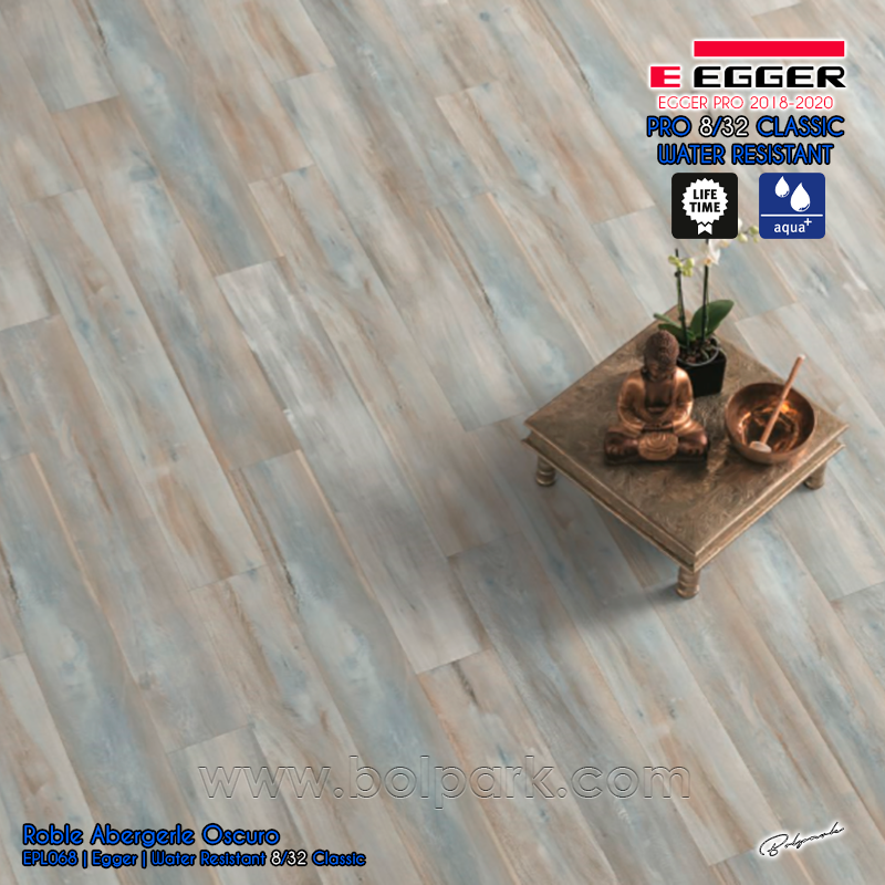 EPL068 ROBLE ABERGELE OSCURO - EGGER PRO 2018 - 2020 WATER RESISTANT 8/32 CLASSIC