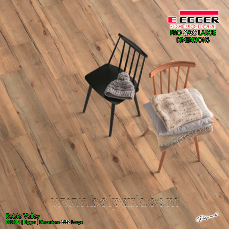 EPL014 ROBLE VALLEY - EGGER PRO 2018 - 2020 DIMENSIONS 8/32 LARGE