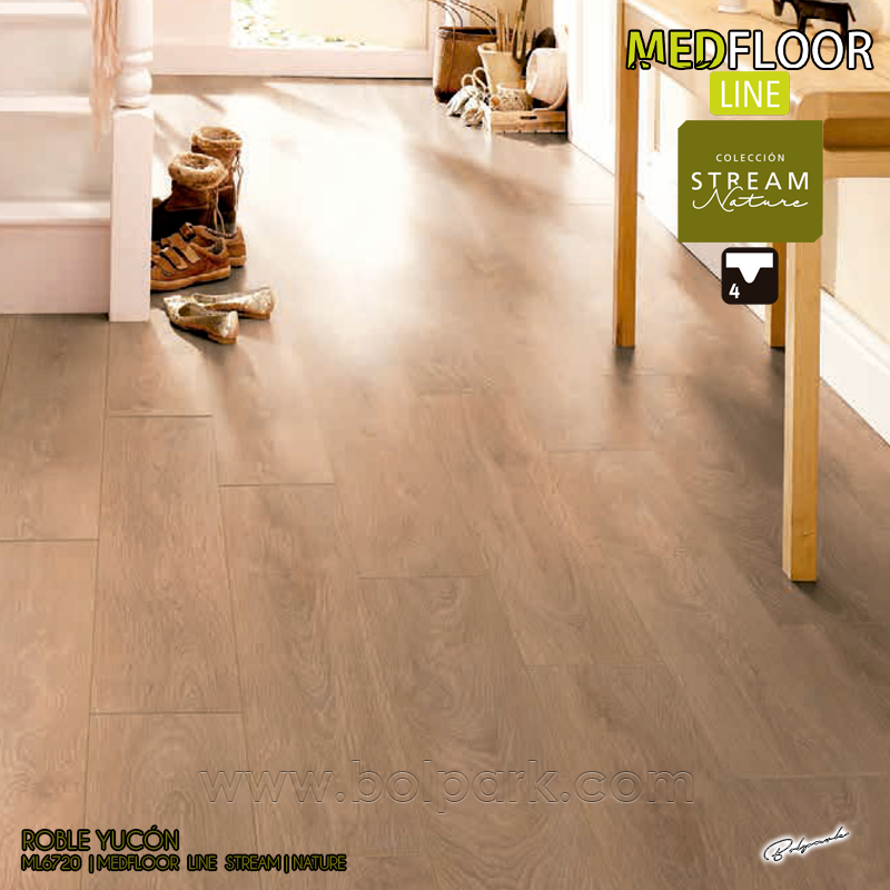 ML6720 ROBLE YUCÓN - MEDFLOOR LINE STREAM NATURE AC5 8/33 CLASSIC 4V