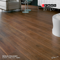 NOGAL ITALIANO - FAUS WOOD TEMPO AC5 8/33 CLASSIC WIDE