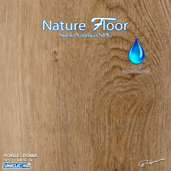 ROBLE ROMA | NATURE FLOOR® | SPC | 100% IMPERMEABLE