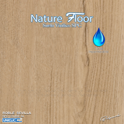 ROBLE SEVILLA | NATURE FLOOR® | SPC | 100% IMPERMEABLE