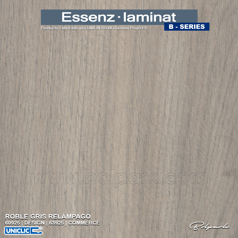 ROBLE GRIS RELÁMPAGO 63925 | ESSENZ LAMINAT | B-SERIES | COMMERCE